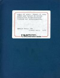 University microfilms ann arbor